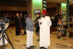 NTA's Hauwa Yusuf interviewing Mr. Sami Charles